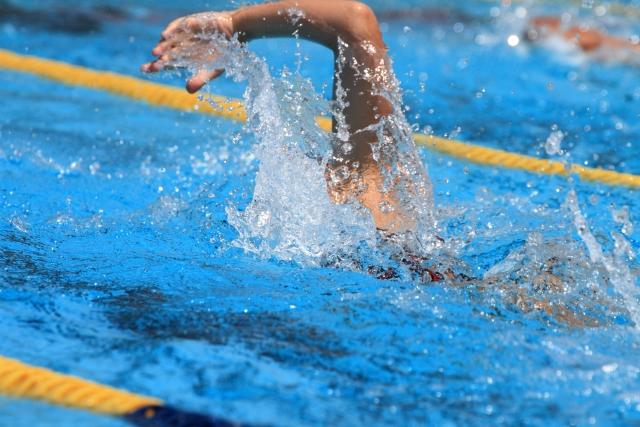 水泳での腰痛について