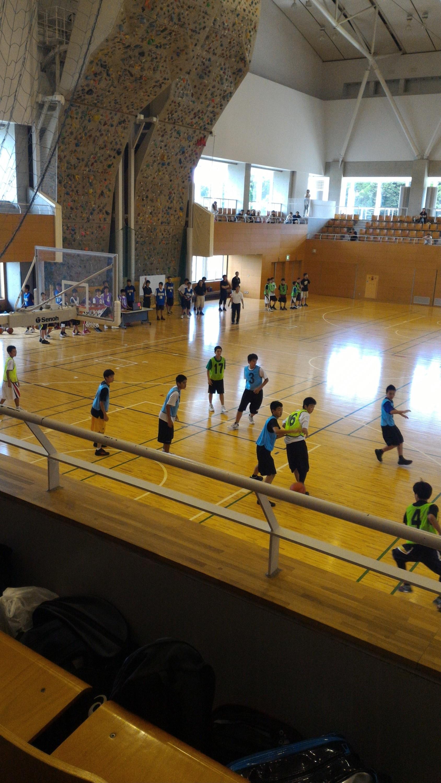 千葉県中学選抜練習会.バスケット