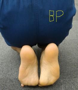 足底筋膜のテスト