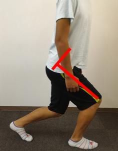 股関節の屈曲