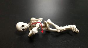 肩の外旋筋ストレッチ