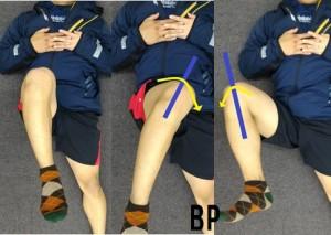 股関節の回旋