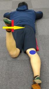 股関節外旋力のチェック