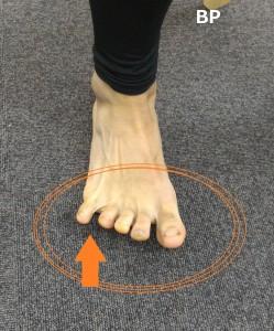 小趾荷重エクササイズ