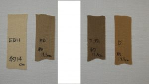 伸縮性固定テープの伸張力の違い