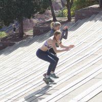 ジャンプ系競技の踵の痛み