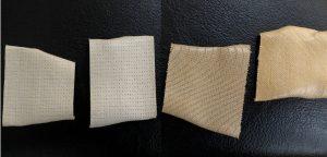 伸縮性固定テープの接着面2